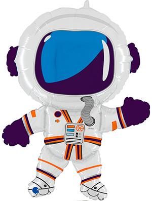 Globo foil Astronauta feliz