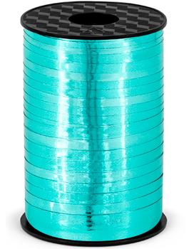 Cinta para globo metalica azul turquesa
