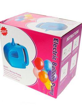 Inflador eléctrico para globos una salida