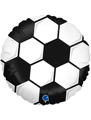 Globo foil pelota Futbol 46 cms.