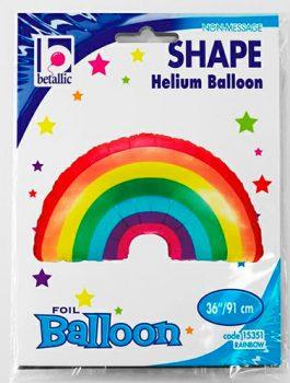 Globo foil arcoiris