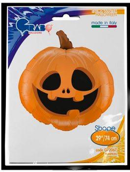 Globo foil calabaza halloween